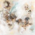Lisa Rachel Horlander, transition into inspiration, 4x4ft, acrylic and oil