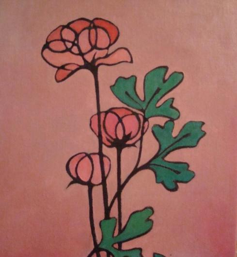 Lisa Horlander-Flower Shapes  -8in x 10in-mine-2007