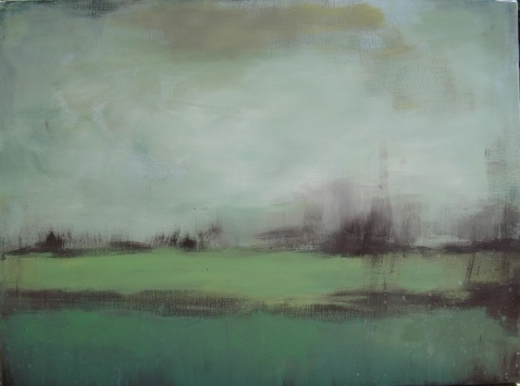 Lisa Horlander-greens-24in x 18in-2010-dad