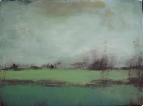 Lisa Horlander-greens-24in x 18in-2010-dad