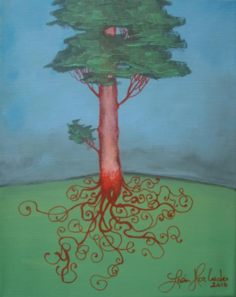 Lisa Horlander-Pine roots- 11inx14in-Amy's-2010