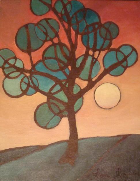 Lisa Horlander-Tree Shapes 2-Lisa Holcome-2010