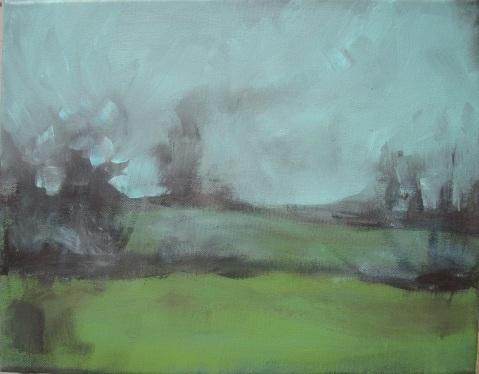 Lisa Horlander-Wispering Marsh- 11inx14in-2010-Donated