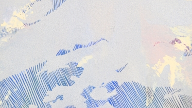 Simile- linoleum print