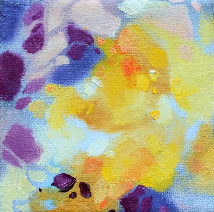 Lisa Horlander- Color Study12-4x4in-2017