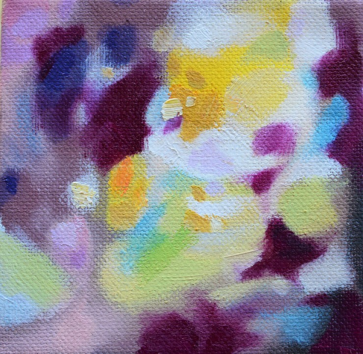 Lisa Horlander- Color Study13-4x4in-2017