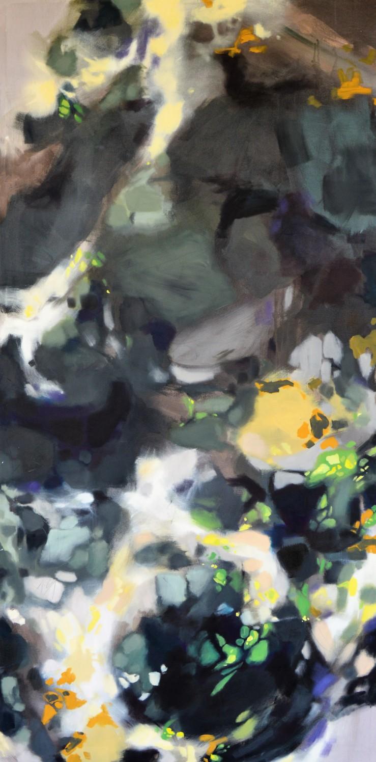 Nimble- 72inx36in-oil on canvas