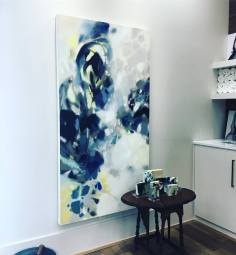 Evening -oil on canvas-72x42in- $3000